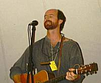 Brent Mason at the Monyash Festival 1997. Photo credit Dave Bondy