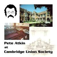 """Cambridge Union Society"" Album Cover"