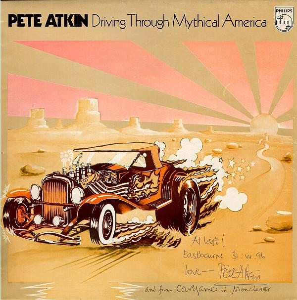 'Driving' Philips Album Cover