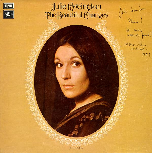 'The Beautiful Changes' Columbia (EMI) Album Cover