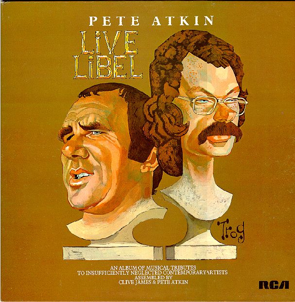 'Live Libel' Album Cover