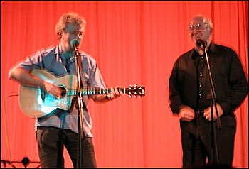 Pete Atkin & Clive James at The Maltings