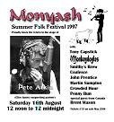 Monyash Festival flyer