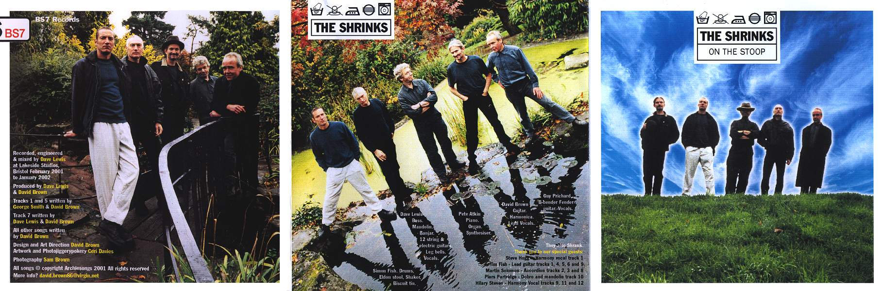 The Shrinks 'On The Stoop' CD Cover